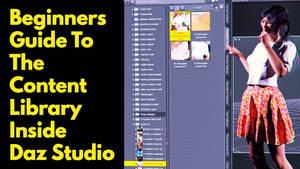 Daz Studio Content Library