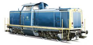 German Locomotive BR 212