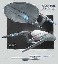 Inceptor Class Concept (25th Century)