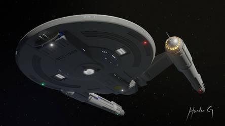 Shepard Class Redesign Concept 3 - WIP