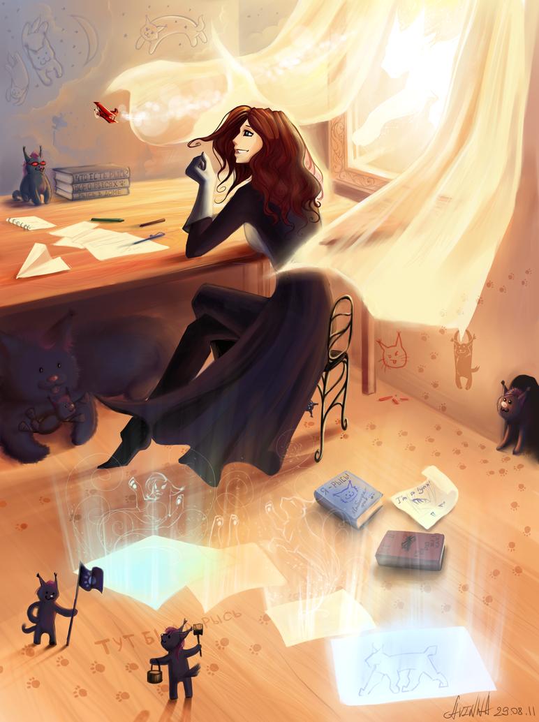 My little world by Avinna