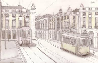 Lisboa - Plaza del comercio