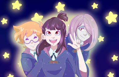 Little Witch Academia by Pwip