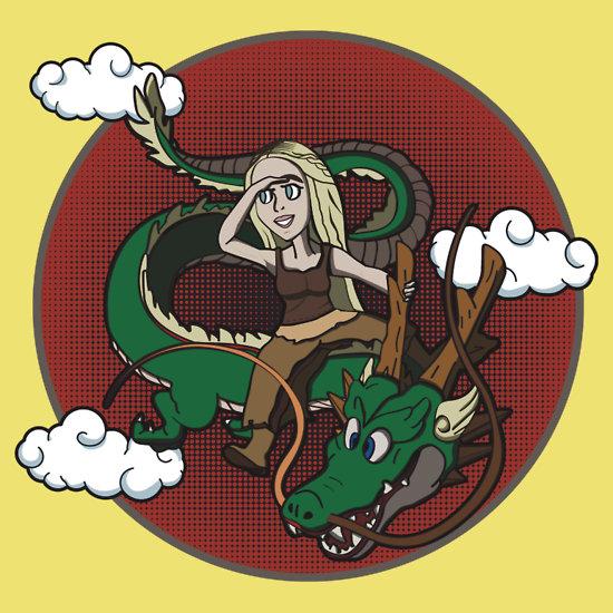 Dragon mom by CristinaO
