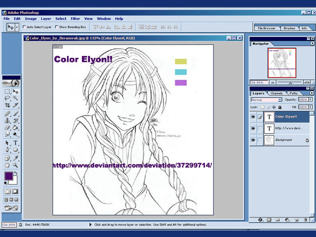 Color Elyon by WITCH-craft