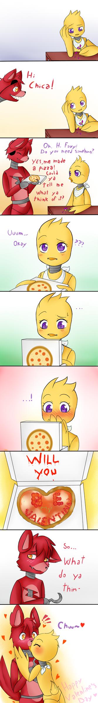 Valentine's Day- Pizza by SaraShadow00