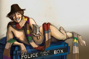 Doctor Who Pinup by Photia