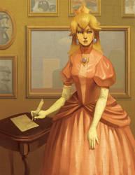 Princess Peach by Photia