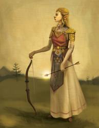 Princess Zelda by Photia
