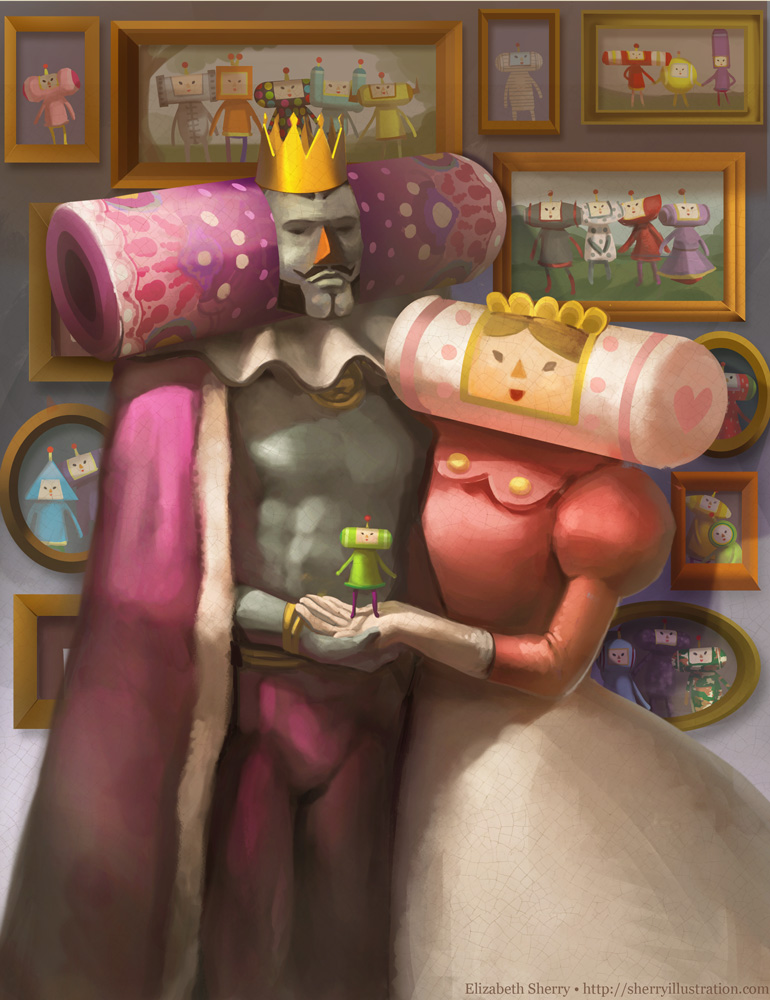 Classical Katamari by Photia