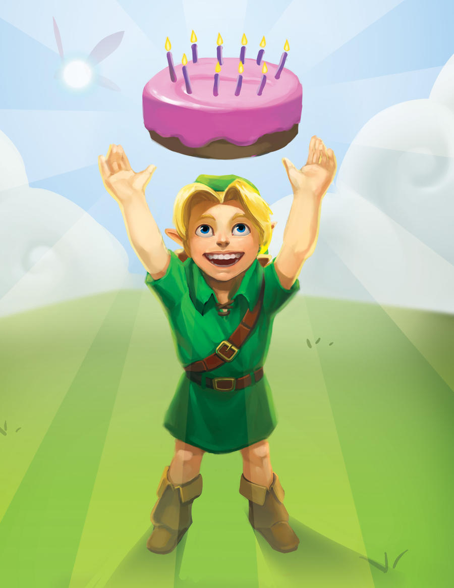 Birthday Link By Photia On DeviantArt