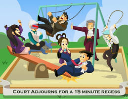 Court Recess by Photia