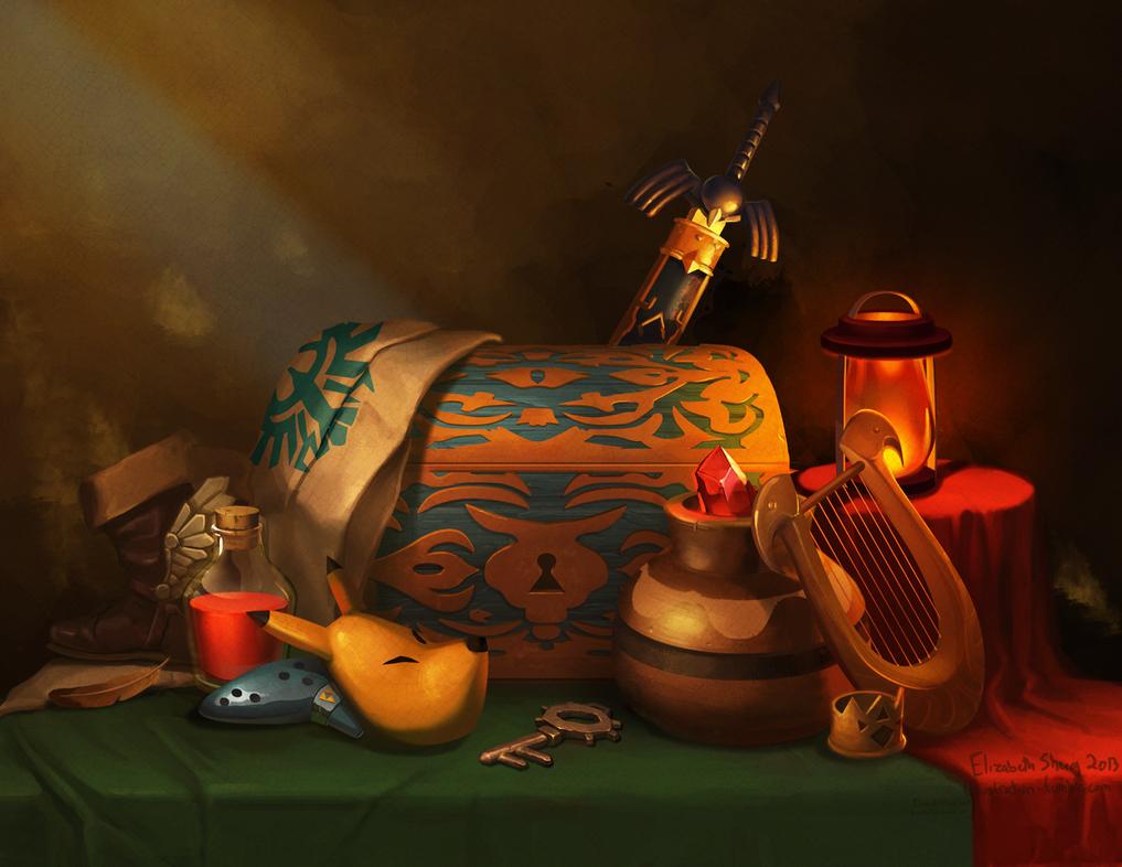 Zelda Still Life by Photia