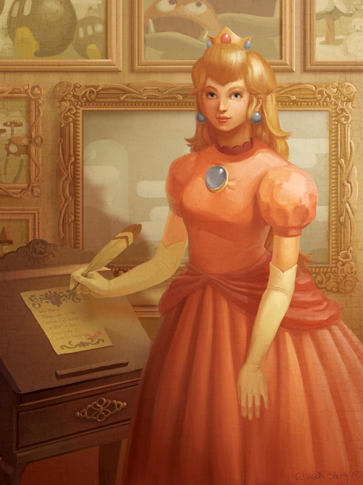 Princess Peach redux by Photia