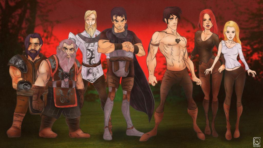 German Fantasy Characters