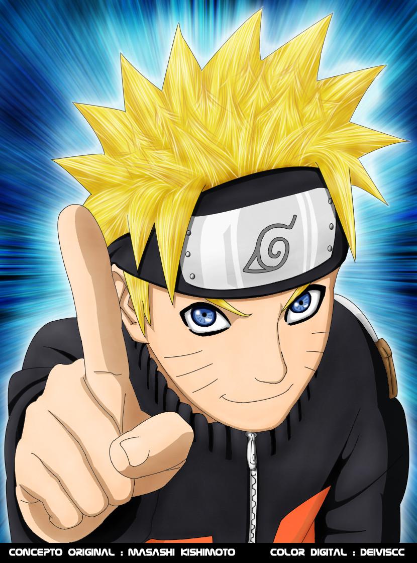 Naruto Finger by DEIVISCC