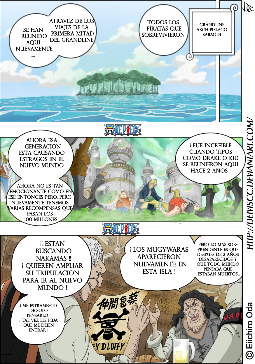 One Piece 598 Pagina 08 Color by DEIVISCC on DeviantArt