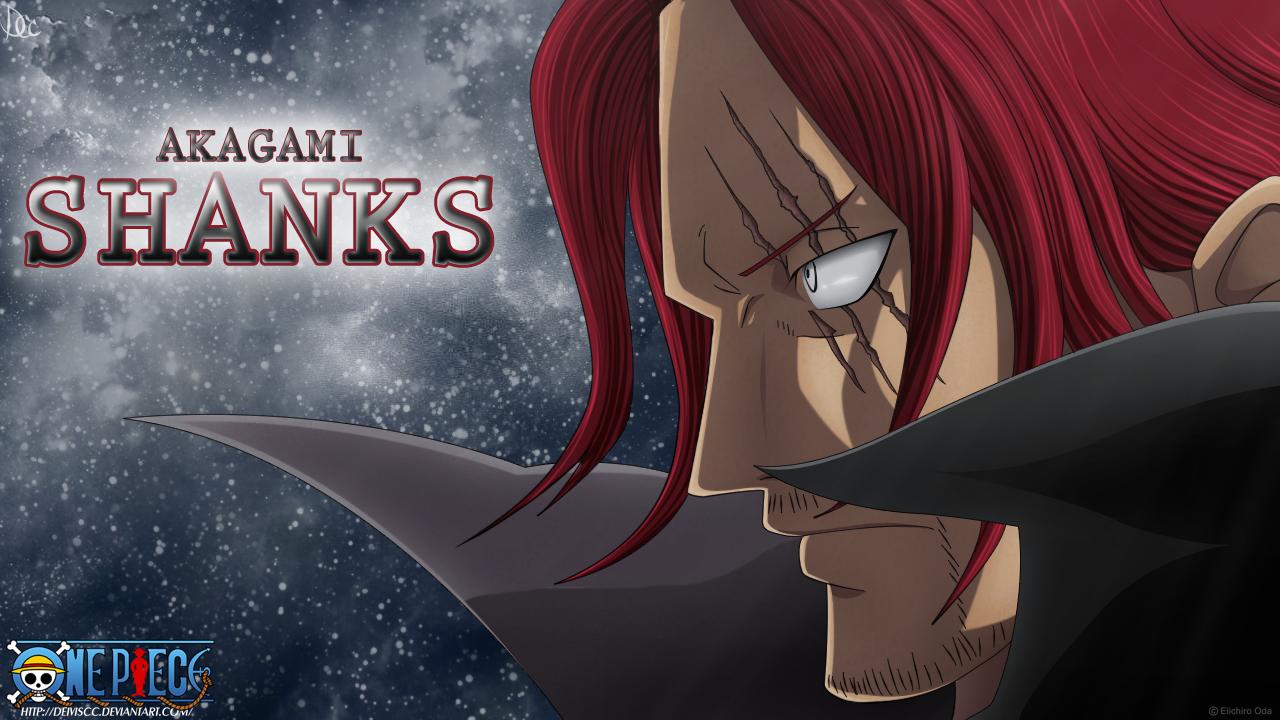 Akagami Shanks by DEIVISCC