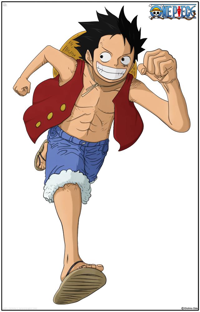 Luffy by DEIVISCC on DeviantArt
