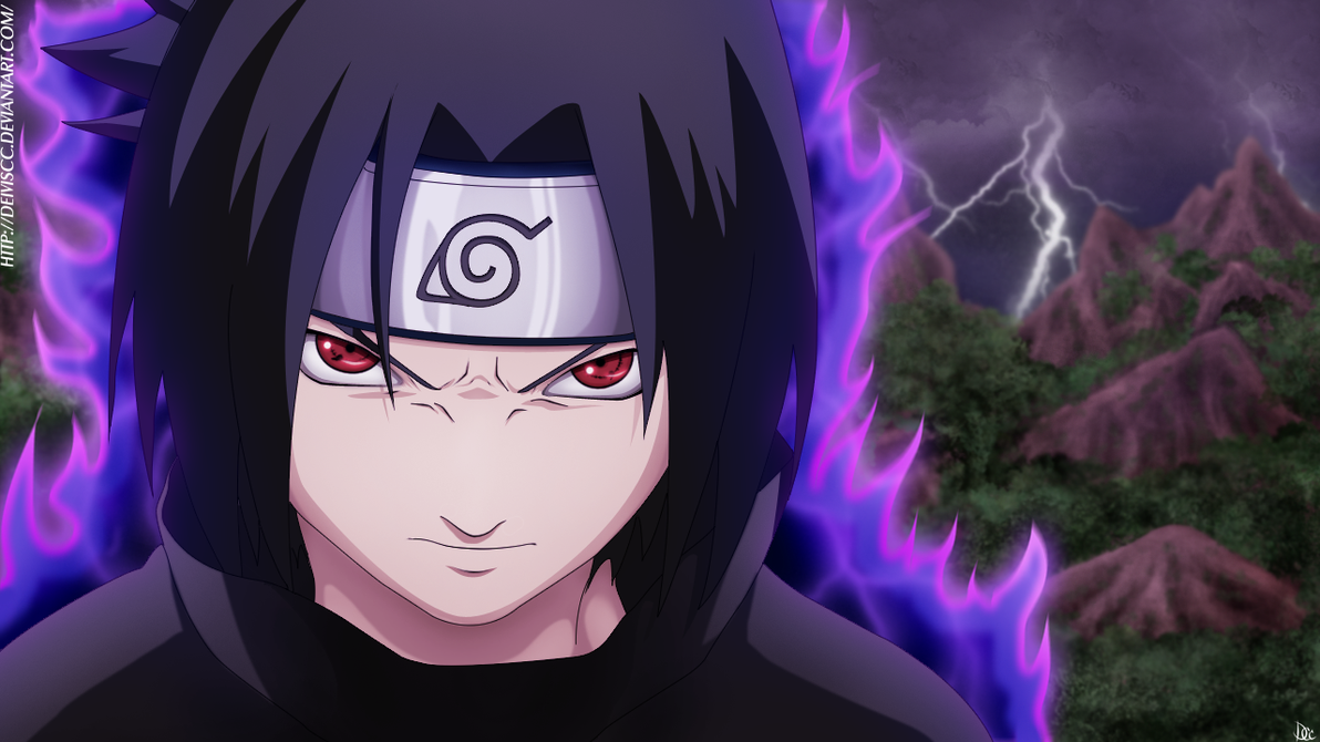 Cursed Sasuke wallpaper