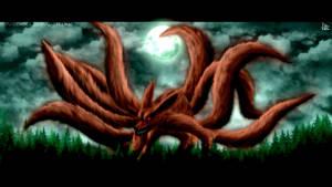 The Kyubi Attack by DEIVISCC