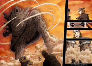 Obito Joins to the Battle