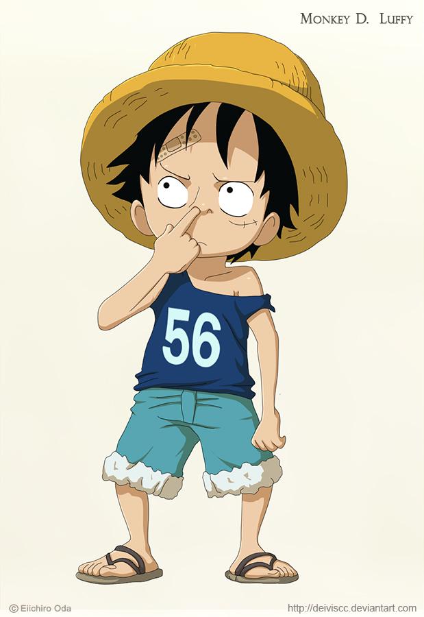 Kid Luffy by DEIVISCC