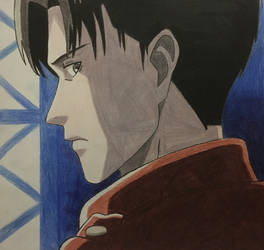 Levi (Profile View) by GodRules311