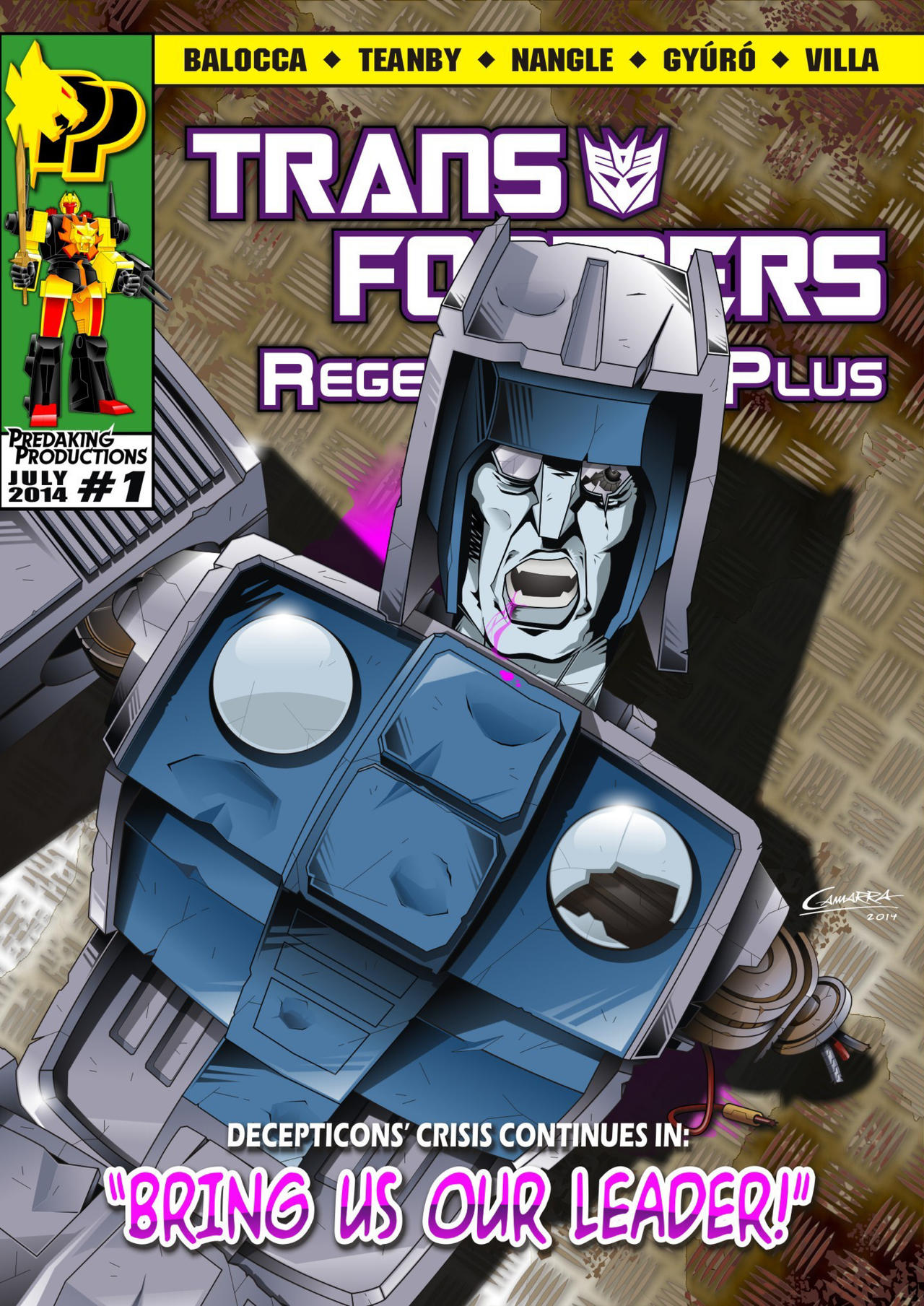 TF Regeneration Plus #1 Regular Cover