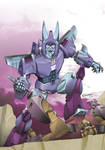 TF Cyclonus VS Blast Off