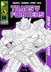 TF Regeneration Plus #4 Cover by AlbertoCamarra