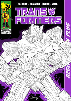 TF Regeneration Plus #4 Cover