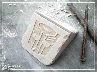 1. Transformers Business Card Holder (Double Face) by AlbertoCamarra