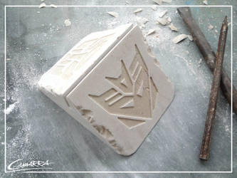 2. Transformers Business Card Holder (Double Face) by AlbertoCamarra