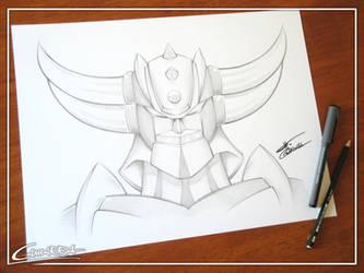 Ufo Robo Grendizer by AlbertoCamarra