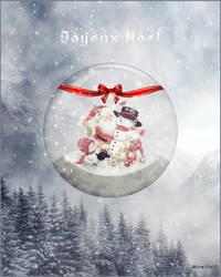 Boule de Noel by MireilleD