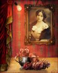 Portrait Romantique Vintage