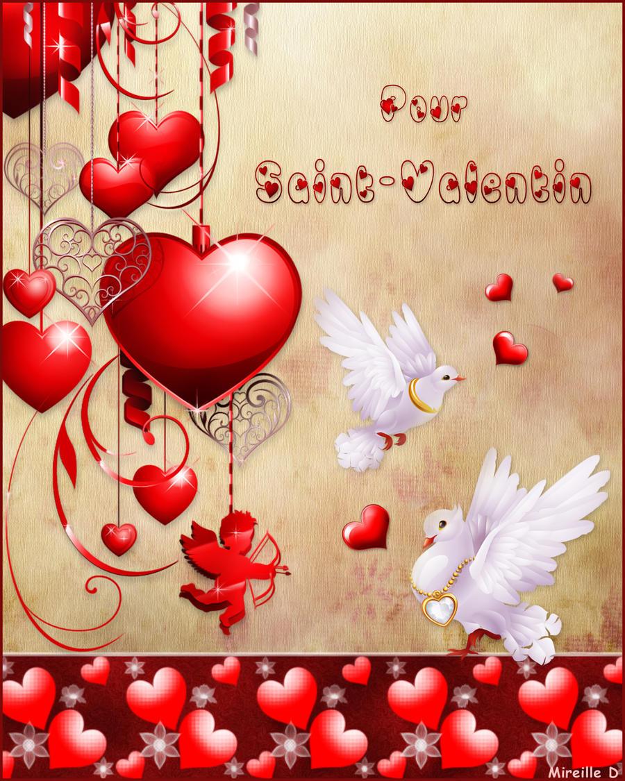 St valentin romantique by mireilled on deviantart - Image saint valentin romantique ...