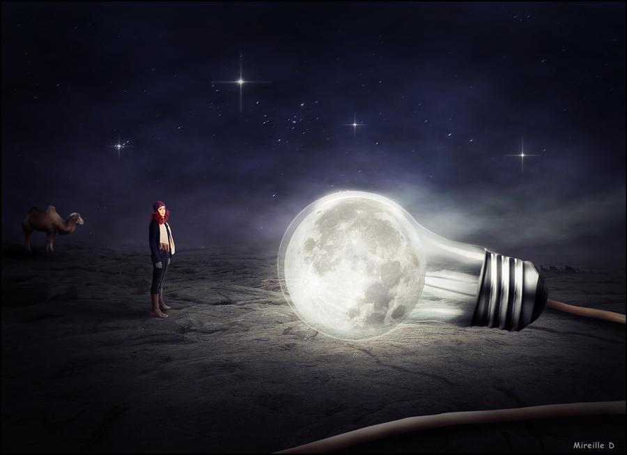 Ampoule Lune
