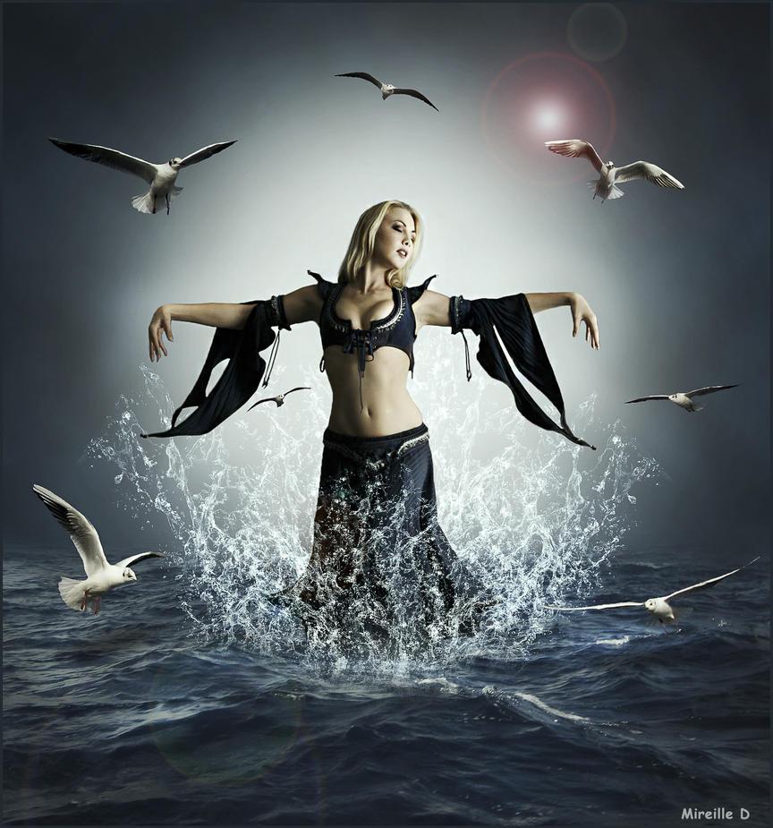 Danse Aquatique by MireilleD