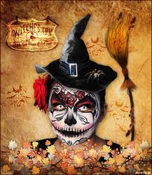 Portrait Halloween by MireilleD