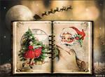 Livre de Noel Ancien