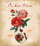 Coeur Fleuri de Saint-Valentin