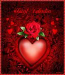 Carte Saint-Valentin by MireilleD