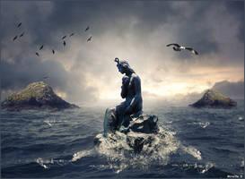 Sirene en Mer by MireilleD