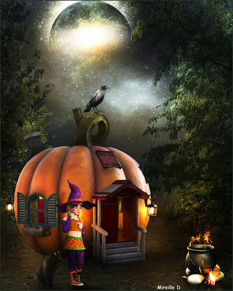 Citrouille Halloween Feerique