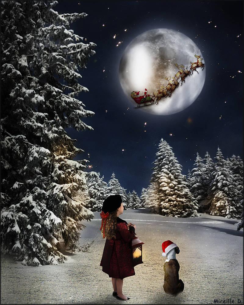 Petite Fille de Noel