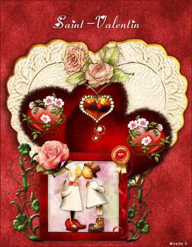 Coeurs de Saint Valentin