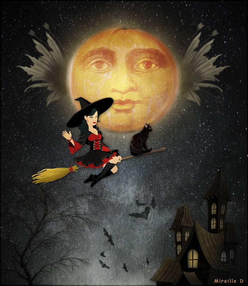 Sorciere Fantaisie Halloween
