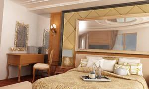 Luxury apartment interior project.